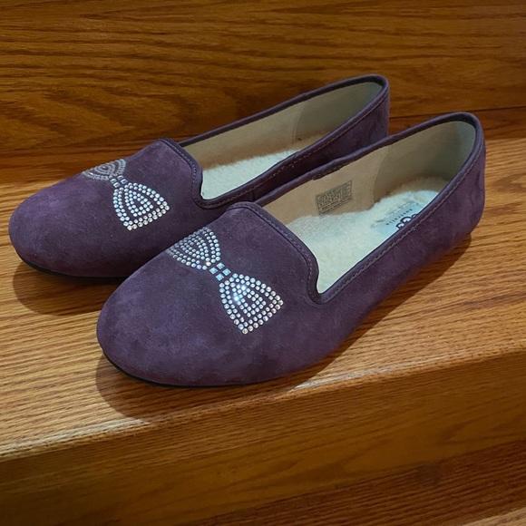 UGG Swarovski Crystal Bow Shoes